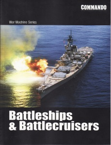 Commando Megazine, War Machine Series, Battleships & Battlecruisers, July 2008