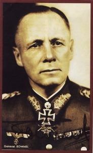AFRIKA - Nama Rommel berkibar di medan tempur padang pasir di front Afrika Utara