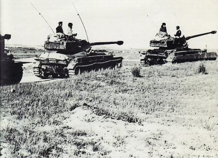 Konvoi Tank Perang Enam Hari