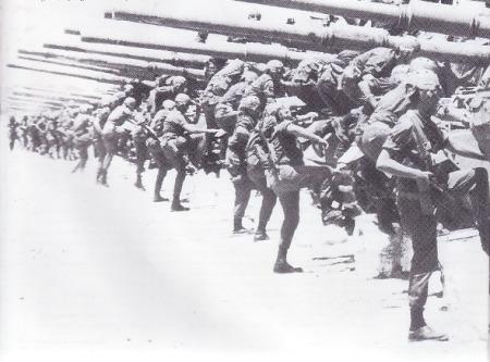 Satuan Tank pada perang Yom Kippur