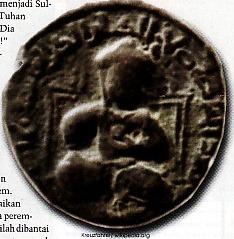 Salahuddin dalam lukisan kepingan uang Dirham