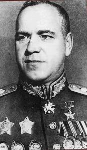 PENGHARGAAN - Lahir dari keluarga petani miskin dengan latar belakang kehidupan pahit yang dijalaninya, menjadikan Zhukov sosok yang tangguh dan tidak gampang menyerah. Zhukov memperoleh berbagai penghargaan dari pemerintah Soviet sebagai Hero of Soviet Union bahkan melebihi Pemimpin Soviet Me itu. Zhukov juga dikenal sebagai ahli perang tank Soviet