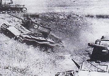 Tank berat Soviet dari jenis NV-1. Meriam, kaliber 76 mm yang dibawanya tergolong ampuh. Sayang, tank ini kerap macet