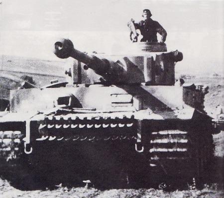 TIGER -Tank PzKpfw VI Tiger I milik satuan lapis Baja 2nd SS Panzergrenadier Division Das Reich dalam pertempuran Kursk. Divisi ini dipimpin oleh perwira SS (M-Gruppenfuhrer) Walter Kruger dan merupakan satuan terkuat dari tiga satuan lapis baja SS yang digelar Jerman.