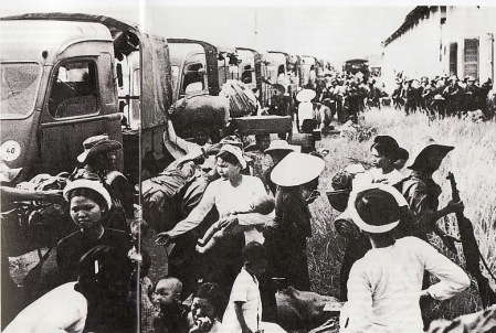 Kekalahan Perancis di Dien Bien Phu membuat seluruh warga Perancis di Vietnam harus angkat kaki. Suasana kalut pun terjadi ketika proses eksodus mulai dilaksanakan